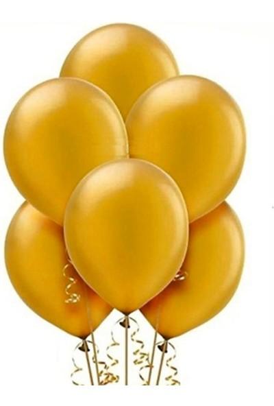 PartyTime Latex Balon Altın Renk