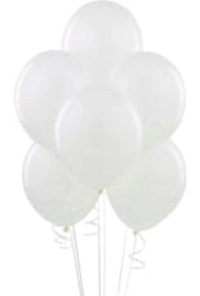 PartyTime Latex Balon Beyaz