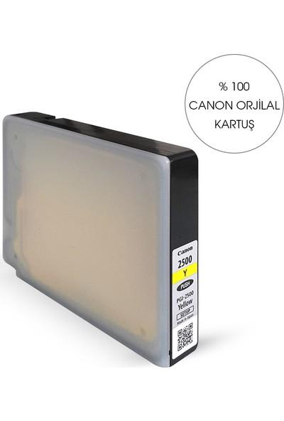 Bitmeyen Kartuş Canon Pgı 2500Xl Sarı Kartuş - Maxify Ib 4050/ Mb 5050 / Mb5350