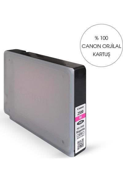 Bitmeyen Kartuş Canon Pgı 2500Xl Kırmızı Kartuş - Maxify Ib 4050/ Mb 5050 / Mb5350
