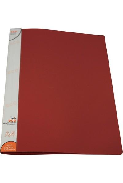 Umix Eco Sunum Dosyası 10'lu Kırmızı