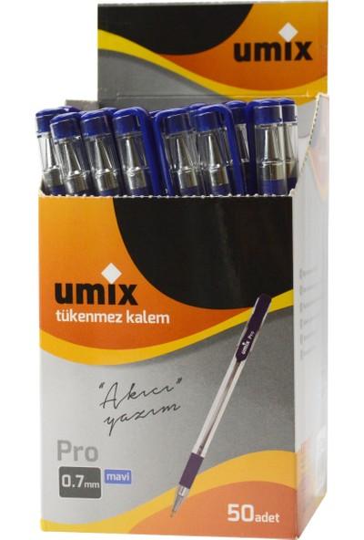 Umix Pro 0.7 Mm 50'li Kutu - Mavi