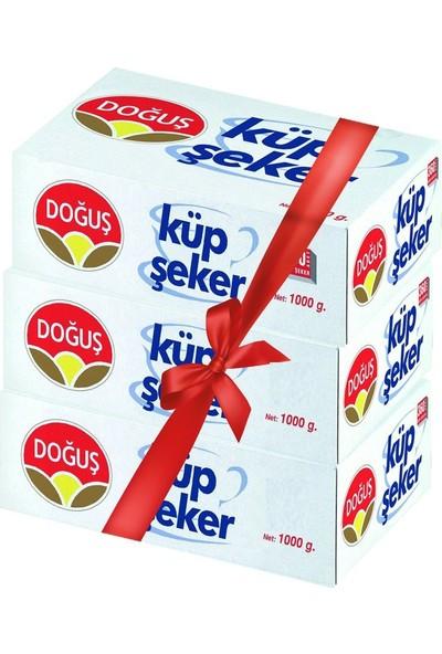 Doğuş Küp Şeker 1000Gr. 405 Adet 3Lü Paket