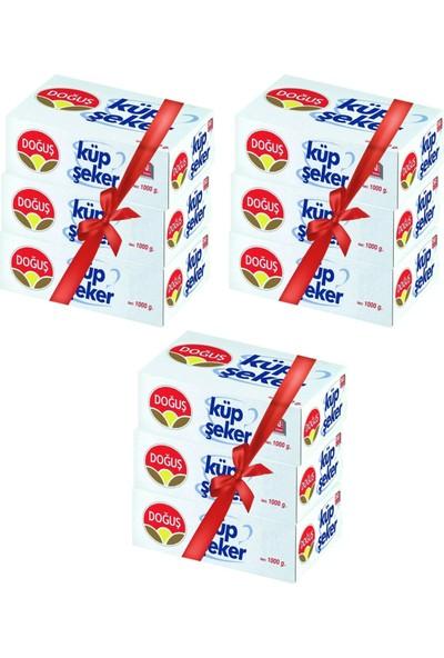 Doğuş Küp Şeker 1000Gr. 405 Adet 9Lu Paket