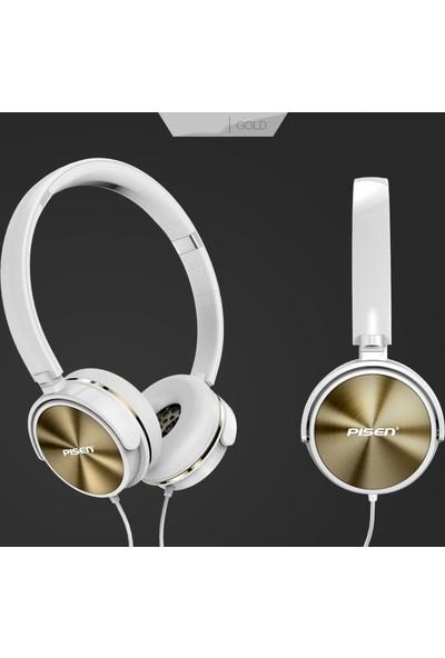 Pisen HD300 Kablolu Kulaklık Yüksek Ses Kalitesi Şık Tasarım