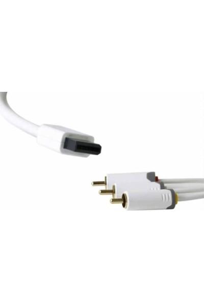 Ttaf Nıntendo Wii Rca ( Lale ) Kablo 2 Metre