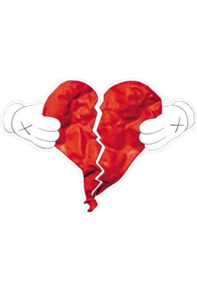 Stickermarket Kırık Kalp Sticker