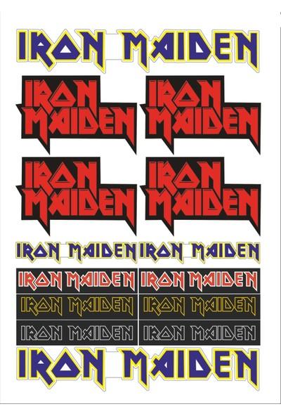 Stickermarket Iron Maiden Sticker Seti
