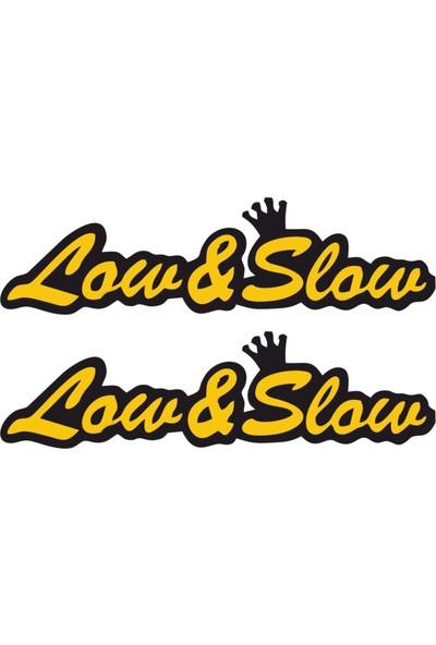 Stickermarket Low and Slow Sticker