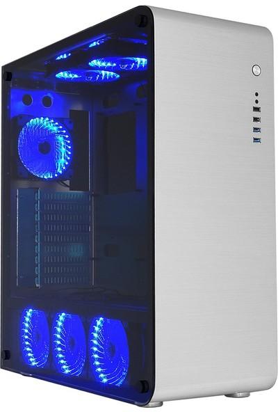 Gamemax FC-9225G-B Şeffaf Pencereli Oyuncu Kasa (Powersiz)
