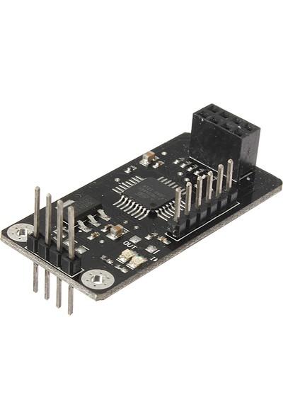 Güvenrob Atmega48+ Nrf24l01 Wireless Shield Spi To Iic I2c