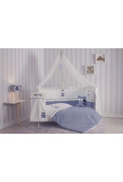 Bndeco Little Baby Mavi Ayıcıklı Uyku Seti 80 x 140 cm