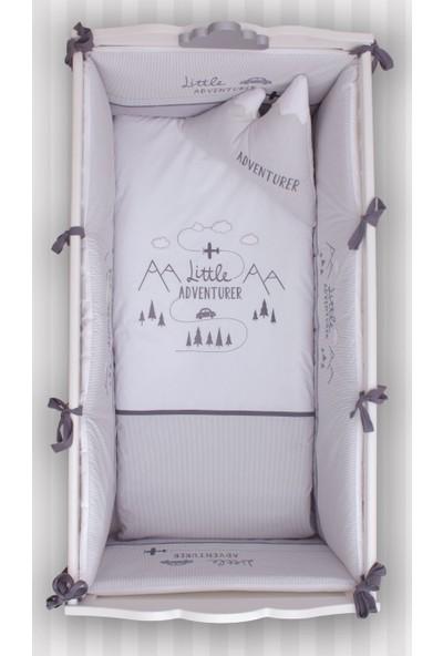Bndeco Adventure Gri Dağlı Uyku Seti 80 x 140 cm