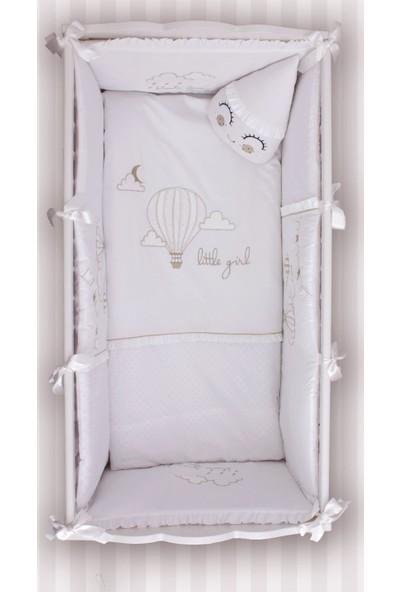 Bndeco Cutie Beyaz Balon Uyku Seti 80 x 140 cm