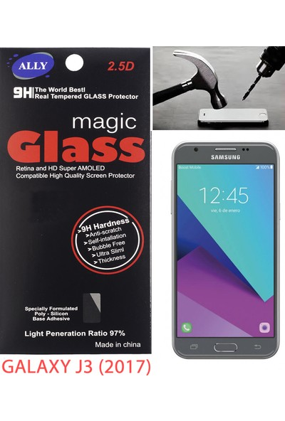 Akıllıphone Samsung Galaxy J3 2017 Ekran Koruyucu