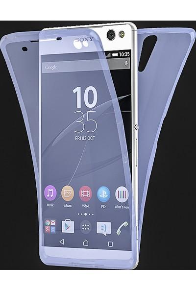 Akıllıphone Sony Xperia C5 360 Koruma Silikon Kılıf