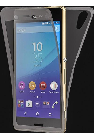 Akıllıphone Sony Xperia Z5 Compact/Mini 360 Koruma Silikon Kılıf