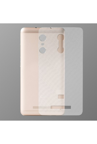 Akıllıphone Xiaomi Redmi Note 3 Şeffaf Arka Koruma Bandı