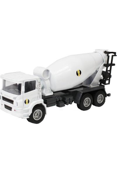 Hy Trucks Model Metal Beton Karma Kamyonu 1/60
