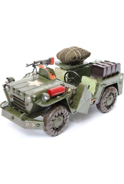 T-Bek U.S. Army Jeep M151 Eskitilmiş Biblo Be-092