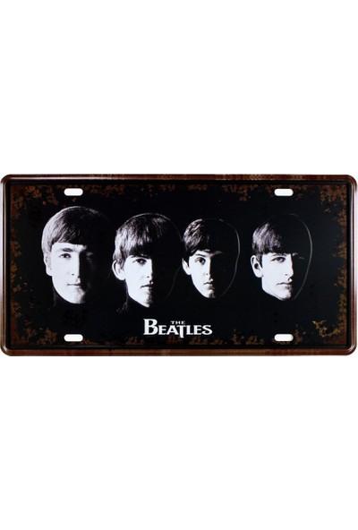 T-Bek Vintage Metal Plaka The Beatles 15X30