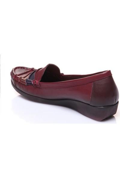 Shoes Time 395 Kadın Deri Ayakkabı