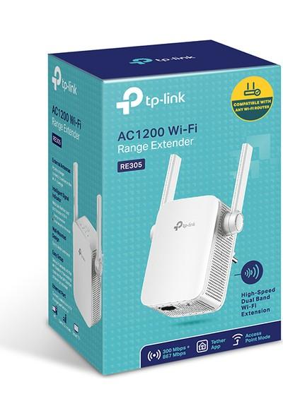 TP-Link RE305 1200 Mbps Kablosuz AC Dual Band Harici Antenli Menzil Genişletici