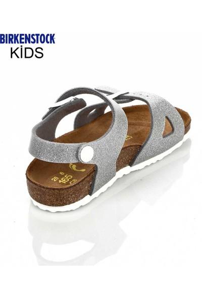 Birkenstock Kız Çocuk Sandalet Gümüş 831783