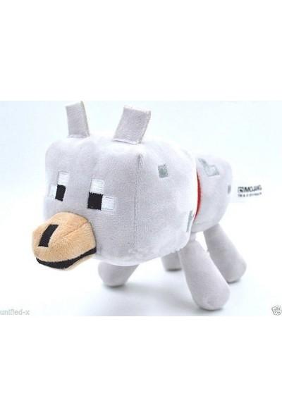 Minecraft 22 cm Peluş Wolf (Kurt Karakter)