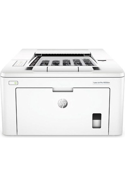 HP LaserJet Pro M203DN Ethernet + Airprint + Çift Taraflı + Mono Lazer yazıcı G3Q46A