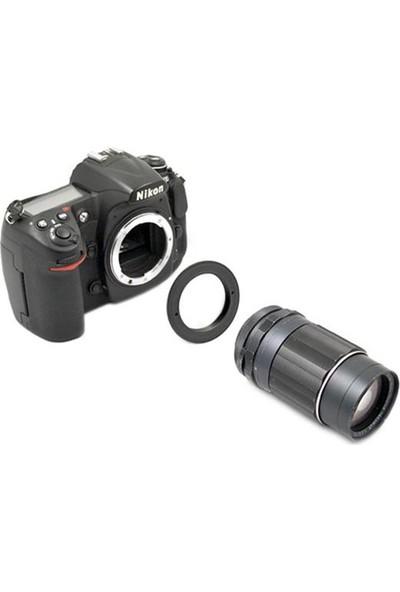 Kiwifotos M42 Vidalı Lens Adaptörü (Nikon)