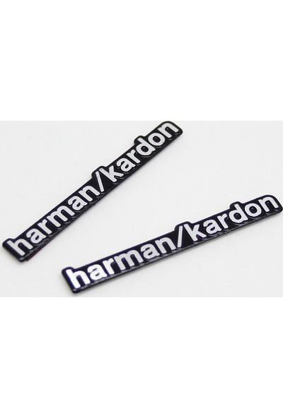 VenessAuto Harman/Kardon Hoparlör Logo Amblem Seti
