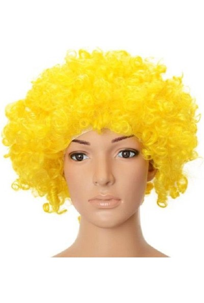 Partypark Peruk Bonus Saç Sarı