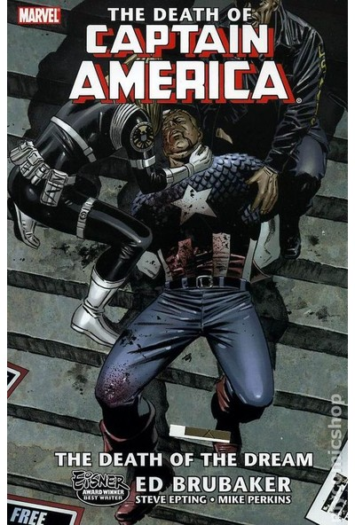 Captain America'nın Ölümü - Ed Brubaker