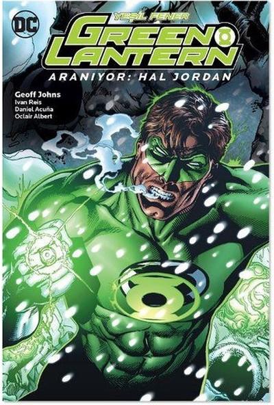 Green Lantern Cilt 5 -Aranıyor - Hal Jordan