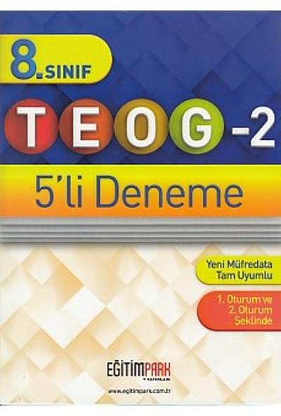 Eğitim Park Yayınları 8. Sınıf Teog 2 5 Li Deneme