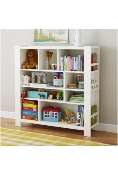 Nitelik Bölmeli Mdf Montessori Kitaplık