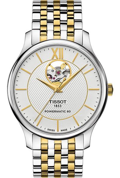 Tissot T063.907.22.038.00 Tradition Powermatic 80 Open Heart Erkek Kol Saati