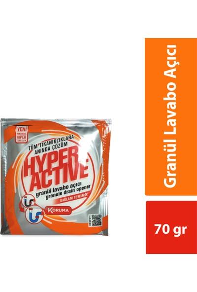Hyper Active Granül Lavabo Açıcı 3x70 gr