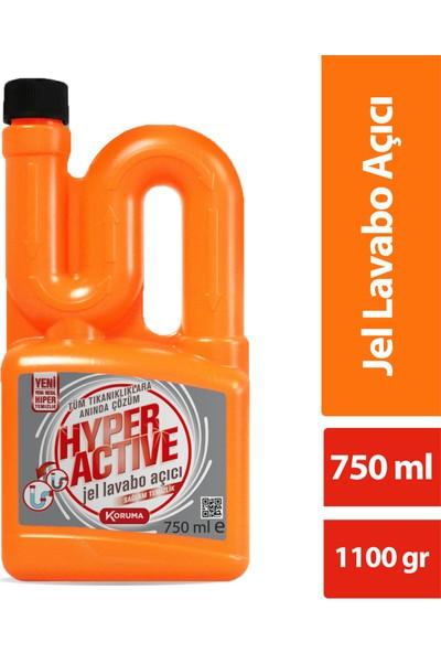 Hyper Active Jel Lavabo Açıcı 750 ml