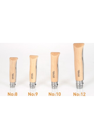 Opinel Kayın Saplı Çakı Bıçak,Avcı Bıçağı Inox No 8