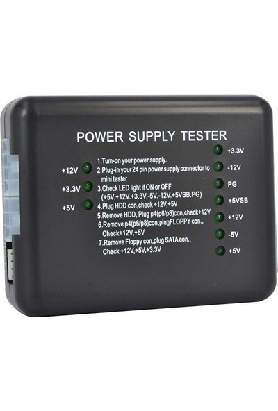 Alfais 4589 Power Supply Test Tester Cihazı Sata Hdd