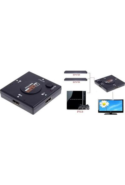 Alfais 4285 Hdmi Çoklayıcı Switch 3 Port Çoğaltıcı