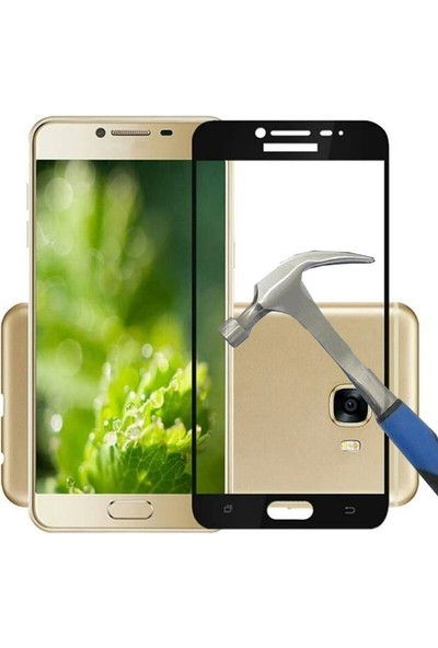 Teleplus Samsung Galaxy C9 Pro Full Kapatan Cam Ekran Koruyucu