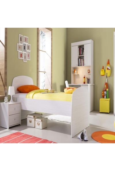 Formini Mobilya Bianco Karyola - 93 x 104 x 206 Cm