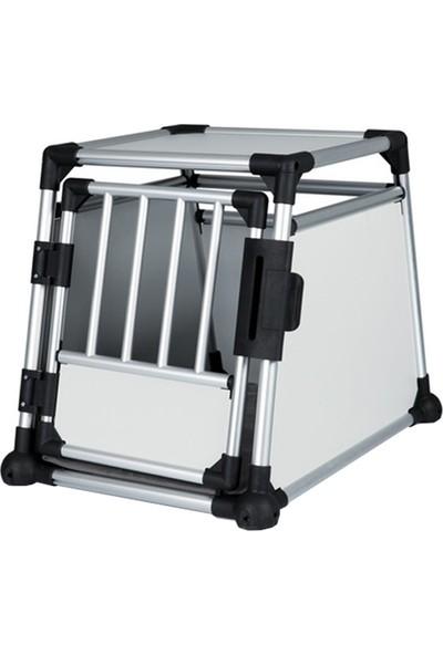 Trixie köpek taşıma alüminyum kafesi 55x62x78cm