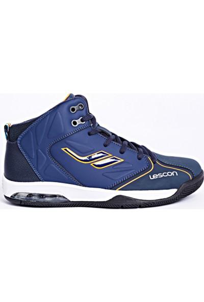 Lescon L-4600 Lacivert Basketbol Ayakkabı 36-40