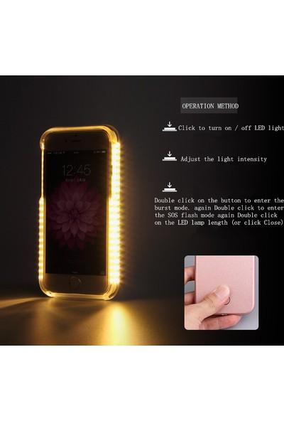 Lumee Samsung S7 için Led Işıklı Kılıf cin94sy