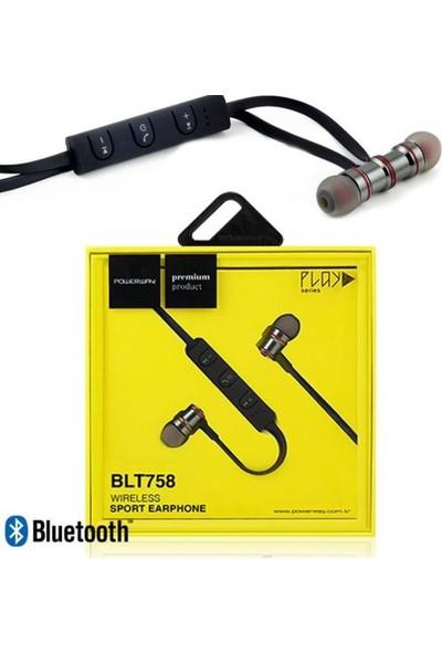 Powerway Blt 758 Mıknatıslı Spor Bluetooth Kulaklık