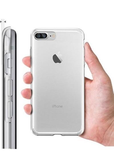 Qapak Apple iPhone 7 Plus Silikon Ultra İnce Koruma Kapak